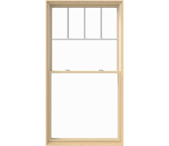 Pella Lifestyle Wood Double Hung Window