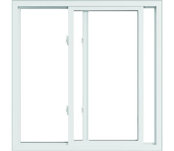 Pella 250 Vinyl Gliding Window