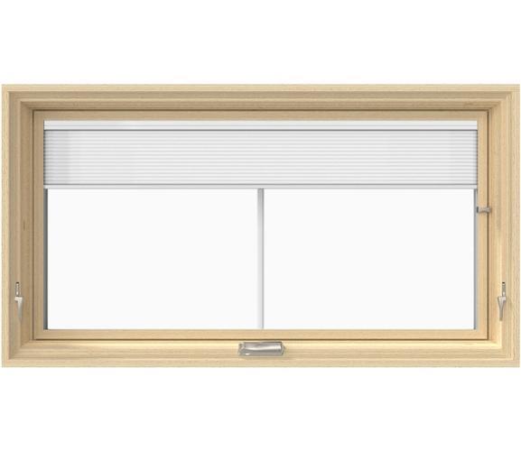 Pella Lifestyle Wood Awning / Hopper Window