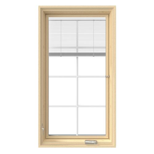 Pella Lifestyle Wood Casement Window