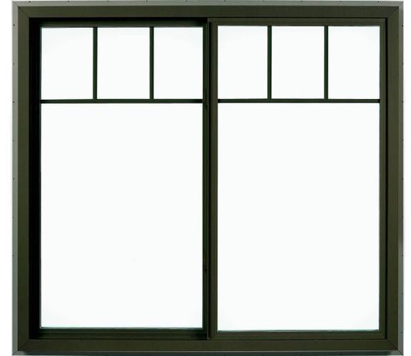 Pella Impervia Fiberglass Gliding Window