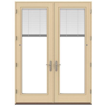 Lifestyle Series Wood Hinged Patio Door