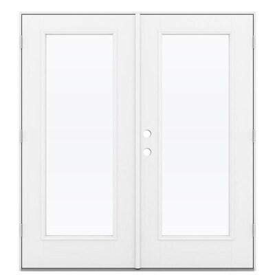 Majesty Hinged Wood Patio Door