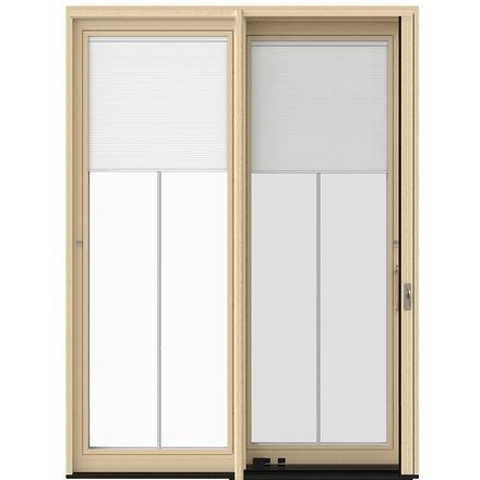 Lifestyle Series Wood Sliding Patio Door